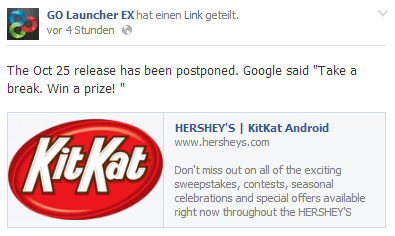 Go LauncherEX - Android Kitkat