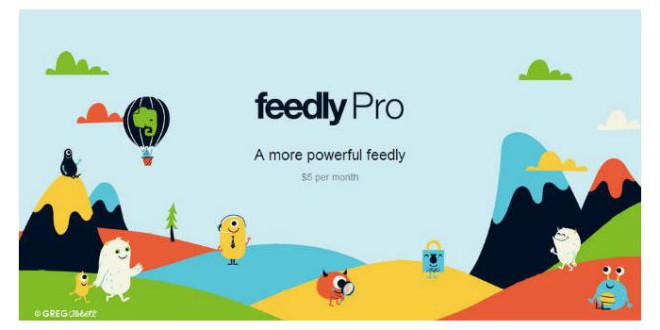 Feedly schaltet seine Pro-Version frei