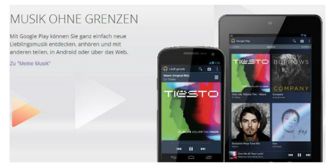 Google Play Music All Access kommt nach Europa