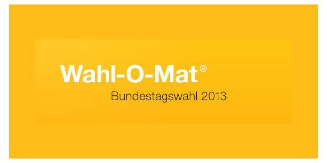 Wahl-O-Mat 2013