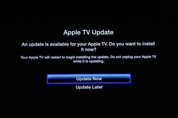 Apple TV Update 6