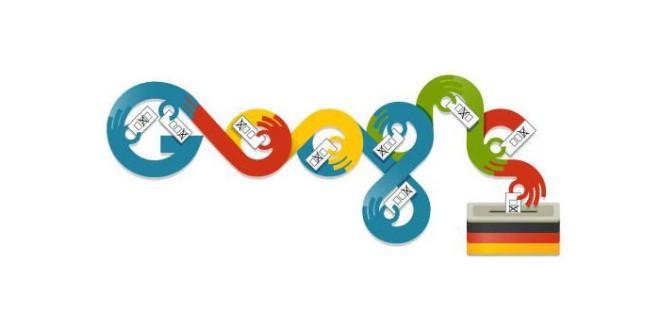 Google Doodle zur Bundestagswahl 2013 - Wochenrückblick
