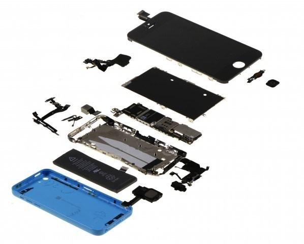 iPhone 5C Bestandteile