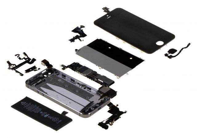 iPhone 5S Bestandteile