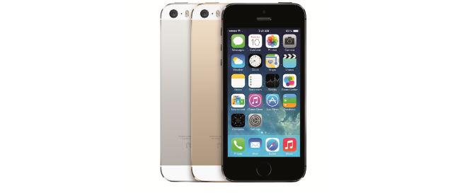 iPhone 5s in drei Farben