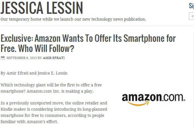 Jessica Lessin über das Amazon Smartphone