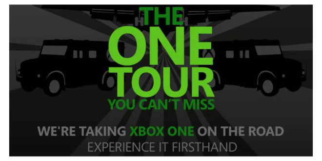 Microsoft XBox One The One Tour