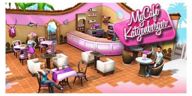 My Café Katzenberger auf mobilen Endgeräten