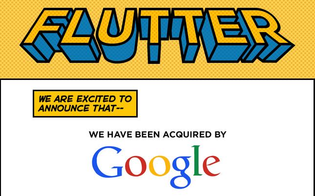 Flutter von Google übernommen
