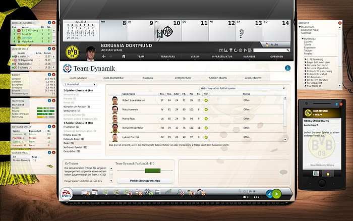 Fussball Manager 14 - Screenshot 1