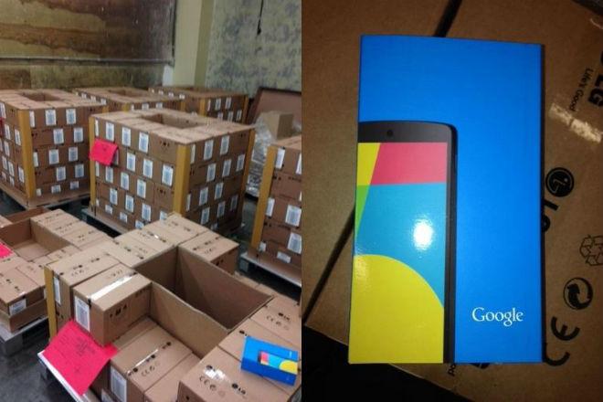 Google Nexus 5 im Lager