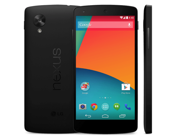 Google Nexus 5 im Play Store