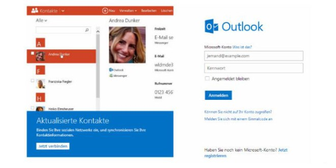 Microsoft Outlook recyclet inaktive Email-Adressen