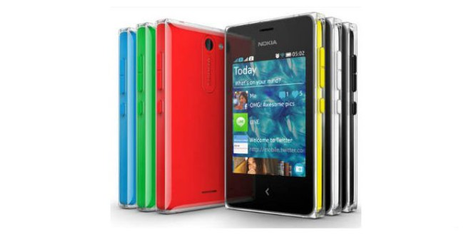 Nokia Asha Smartphone