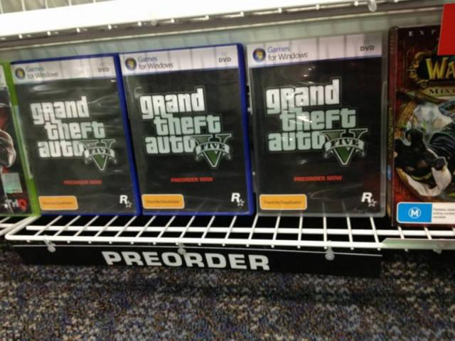 Vorbestellung GTA 5 PC
