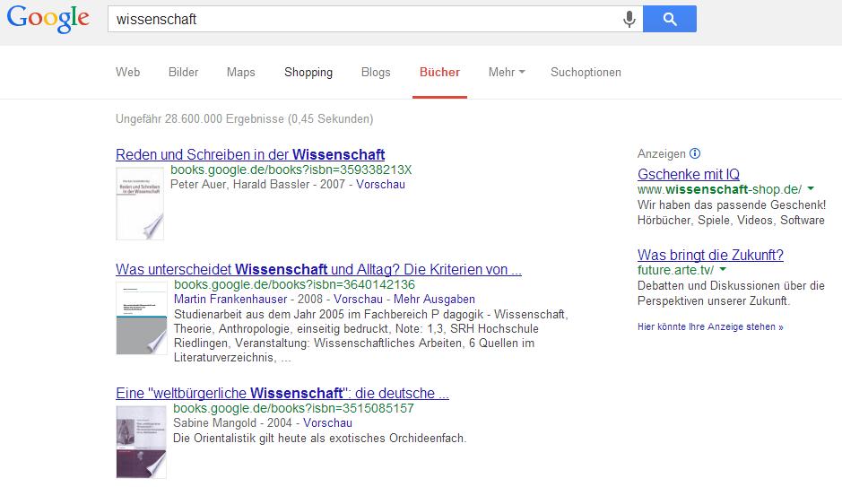 Google Books - Bücher suchen