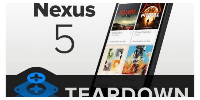 Google Nexus 5 Teardown
