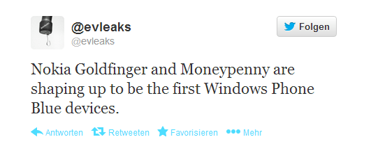 Nokia Goldfinger und Moneypenny