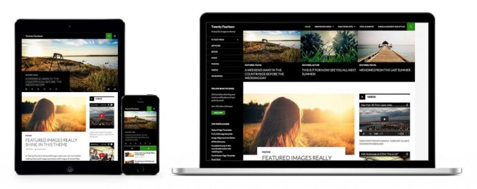 Wordpress Twenty Fourteen Theme