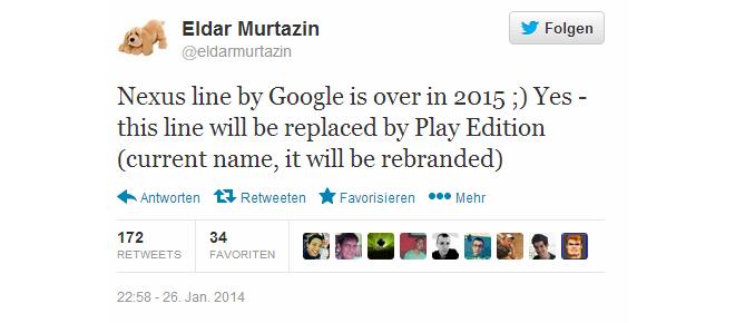 Google Nexus - Das Ende
