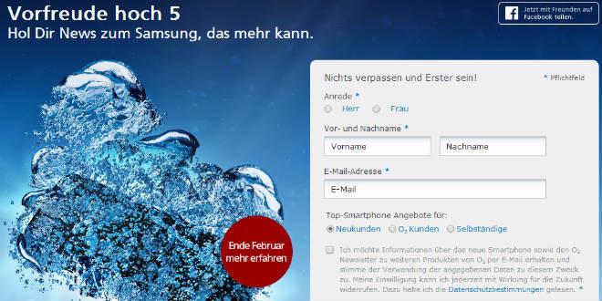 o2 Online Samsung Galaxy S5