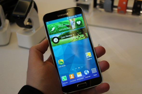 Samsung Galaxy S5 Home Oberfläche