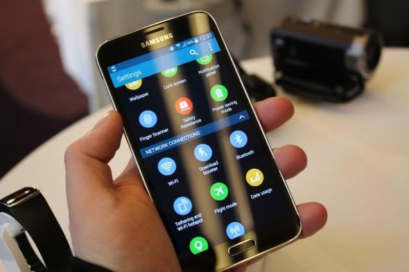 Samsung Galaxy S5 Oberfläche