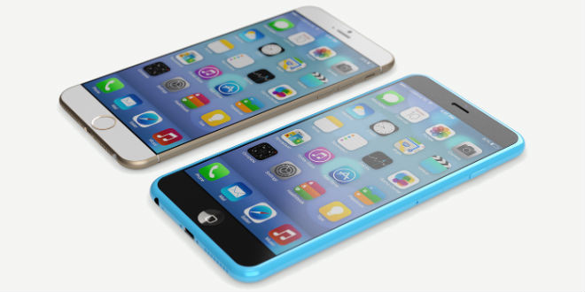 iPhone 6 Rendering Konzept