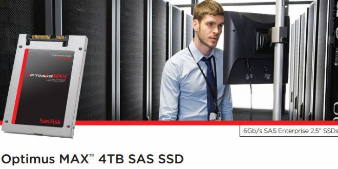 Optimus MAX 4TB SAS SSD