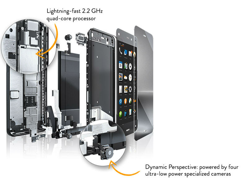 Amazon Fire Phone im Detail