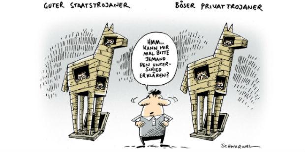 Guter und böser Staatstrojaner