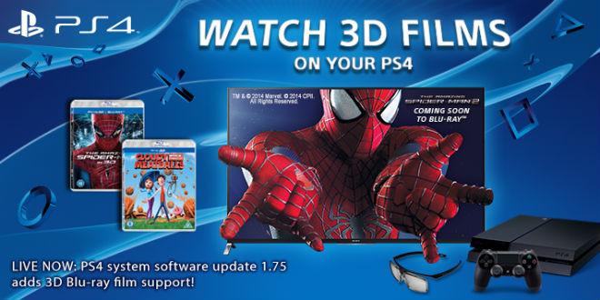 PlayStation 4 mit Blu-ray Unterstützung