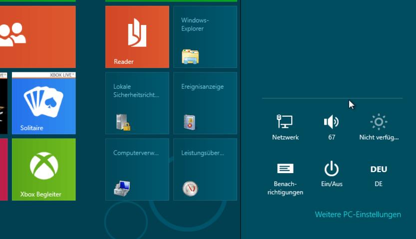 Einstellungen synchronisieren mit Windows 8