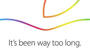 "Unter dem Motto ""It´s been way too long"" findet Apples iPad / Mac / OS X Yosemite Keynote am 16. Oktober statt."