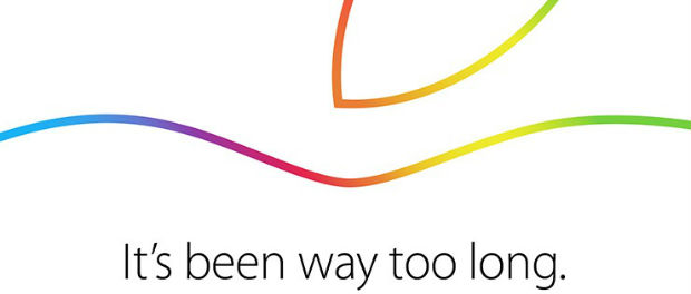 "Unter dem Motto ""It´s been way too long"" findet Apples iPad / Mac / OS X Yosemite Keynote am 16. Oktober statt."