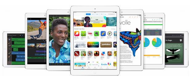 Apple Keynote - neue iPad Generation