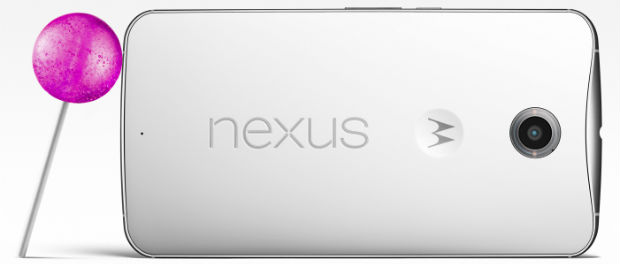 Google Nexus 6 mit Android Lollipop