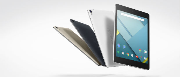 Google Nexus 9 mit Android Lollipop