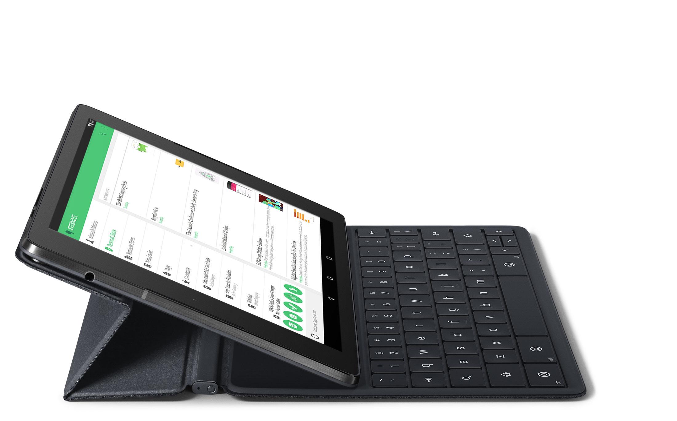 Google Nexus 9 mit Tastatur-Cover