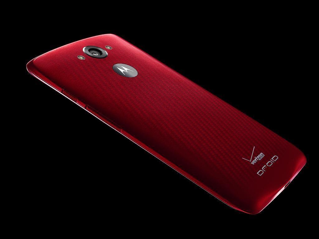 Motorola Droid Turbo aka Google Nexus 6 Mini - Rückseite und in Rot