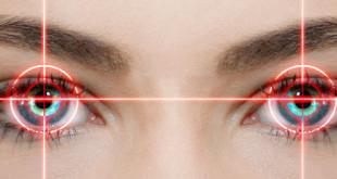 Rote Augen entfernen