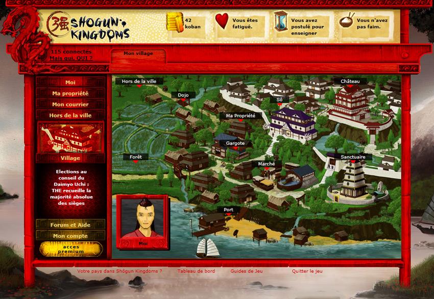 Shogun Kingdoms - Tauche in das japanische Mittelalter ein