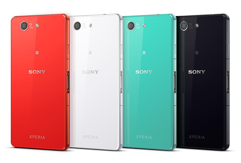 Sony Xperia Z3 Compact - Ansicht der Rückseite