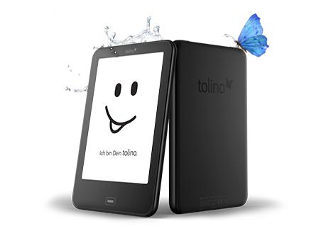 Tolino Vision 2 - Optimaler Schutz vor Wasser