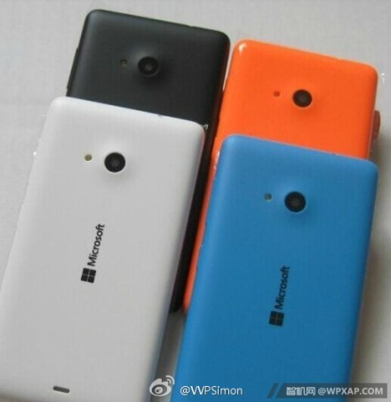 Microsoft Lumia 535 mit bunten Covers