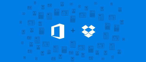 Microsoft wird Cloudspeicher Dropbox in Office integrieren