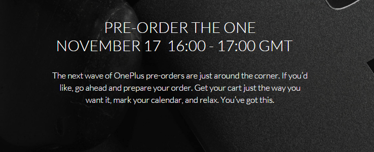 OnePlus One Smartphone in Sandstone Black am 17 November bestellbar