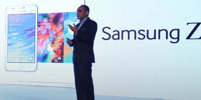 Präsentation des Samsung Z1 für Indien