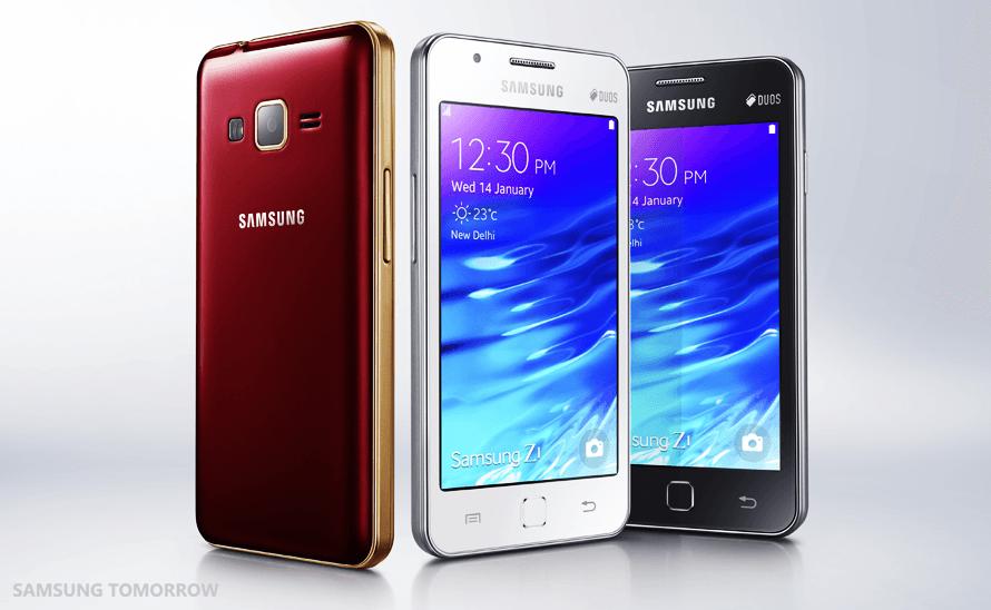 Samsung bringt erstes Tizen OS-Smartphone in Indien auf den Markt
