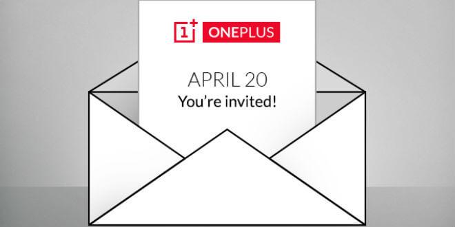 OnePlus verschickt Einladungen - OnePlus Two